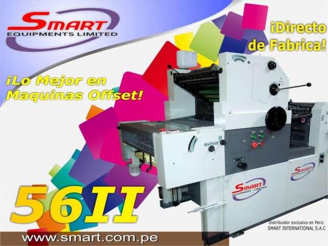 Maquina impresora offset un color smart 56 i i