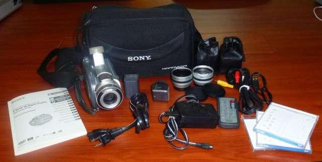Cámara de video digital handycam dcr/dvd505