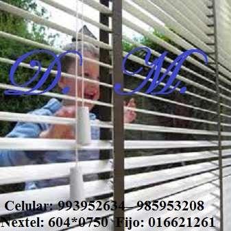 Persianas-vendemos e instalamos persianas para oficinas, departamentos,
