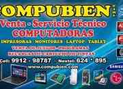 Servicio técnico de computadoras a domicilio ate,chosica,santa anita,chaclacayo,huachipa