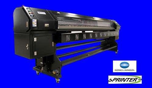 Maquina de gigantografia sprinter konica standar - black 3204 - 512-14 pl