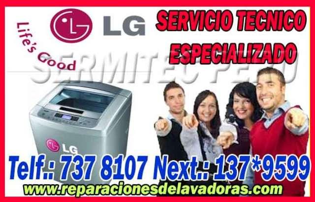 Asistencia tecnica de lavadoras lg 7378107