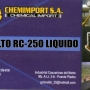 VENTA DE ASFALTO LIQUIDO RC-250, EMULSION CATIONICA.