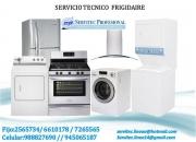 Servicio técnico frigidaire lavadoras 6610178 -2565734 lima