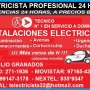 EMPALMES ELECTRICOS EN GENERAL ATENCION 24HRS BRAULIO GRANADOS ELECTRICISTA PROFESIONAL I
