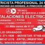 ELECTRICISTA SALAMANCA DOMICILIO CONEXION 991473178 - 971654372
