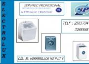 LIMA:SERVICIO TECNICO DE LAVADORAS ELECTROLUX 2565734 *SP