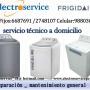 Reparacion de lavadoras Frigidaire a domicilio /tecnicos garantizados