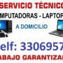 Tecnico en Reparacion Mantenimiento y Formateo de Computadoras y Laptop a Domicilio