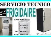 Servicio tecnico frigidaire // lavadoras secadoras 4476173
