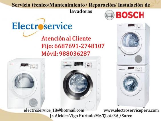 El mejor servicio técnico de lavadora bosch a su servicio++@2748107 garantizado