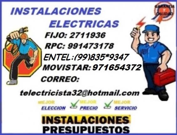 Electricista salamanca domicilio detecta 991473178 - 971654372