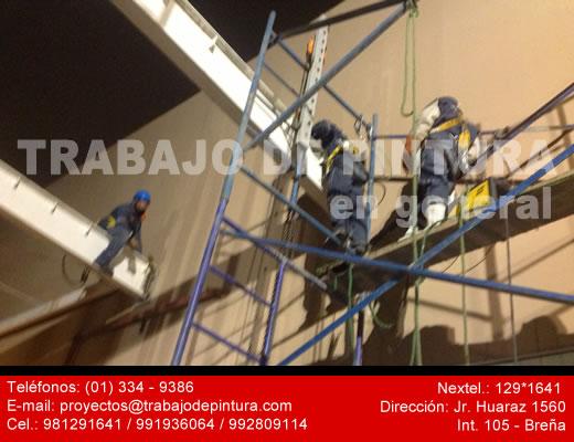 Profesionales en pintado de estructuras metalicas