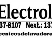 Profesionales en servicio tecnico lavadoras electrolux 7378107 ((breña))