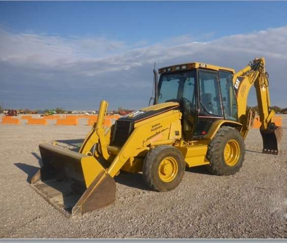 Se vende retroexcavadora cat 420d