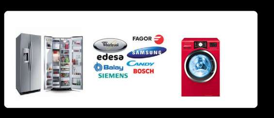 Soporte tecnico a domicilio de lavadoras y secadoras ( whirlpool) 2545935