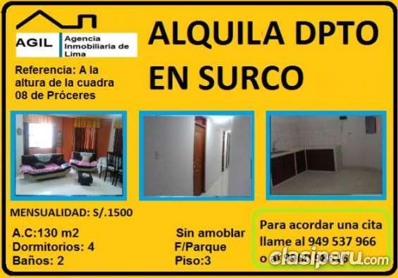 Oportunidad!! alquilo departamento consultar.