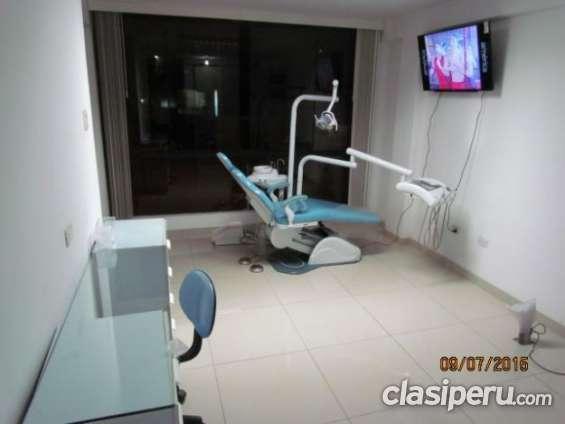 Vendo urgente alquilo hermoso consultorio dental en excelente estado.