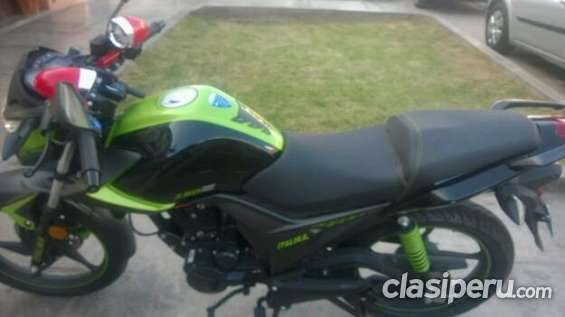 Consulta por moto italika verde negro espero tu respuesta