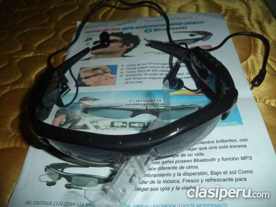 Gafas de sol con camara,radio y mp3 lucete moderno