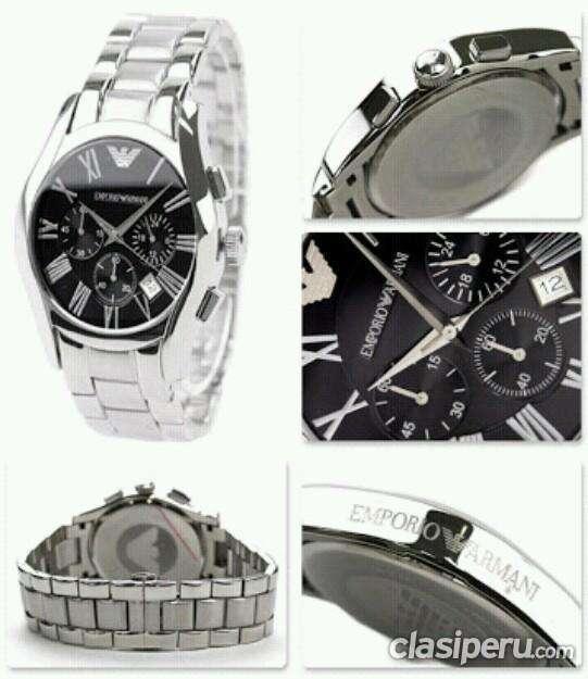073184c32df5 Vendo reloj emporio armani ar0673 cronografo   no casio fossil guess poco  uso.