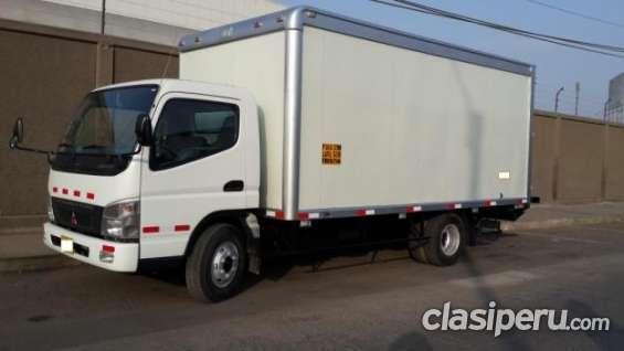 Oportunidad!! vendo camion mitsubishi canter 2011 es urgente