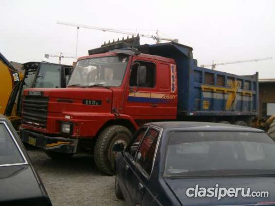 Vendo!!! camion volquete scania 112 e del año 91 es urgente