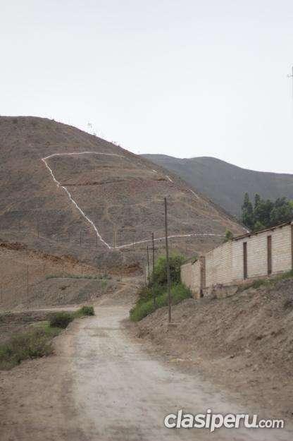 Vendo o permuto¡¡ venta de terreno en pachacamac remato! terreno de 1,001m2 en el cerro mamelon de tomina, san fernando consulta hoy mismo.