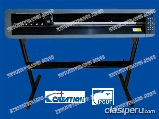 Plotter de corte creation pcut cs 1200 - 120cm usb alineacion con laser - modelo excl