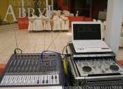 Alquiler de sonido y música para fiestas y eventos sociales