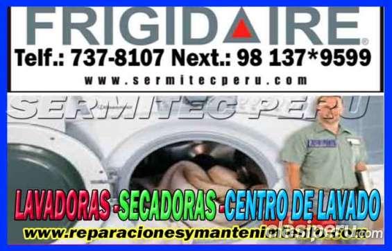 Linea blanca reparacion en centro de lavado frigidaire 2761763 (jesus maria)