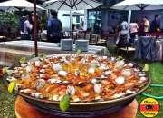 Las mejores paellas de lima con chema's catering