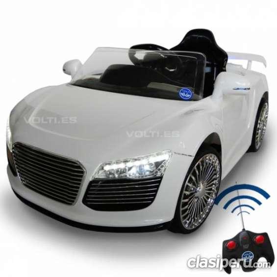 Oportunidad!! *****carro a bateria modelo audi r8 spider 2015 nuevo de exportacion.***