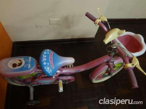 Fotos de Vendo bicicleta para niña marca monark oferta especial. 3