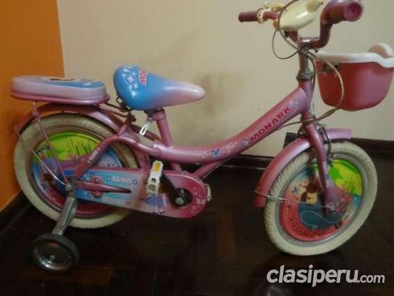 Fotos de Vendo bicicleta para niña marca monark oferta especial. 4