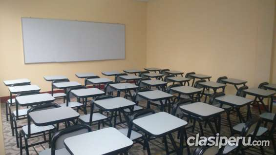 Alquiler de aulas amplias