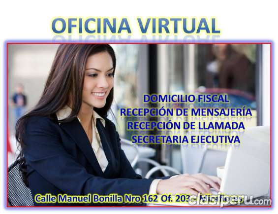 Alquilo oficina virtual en miraflores, lima
