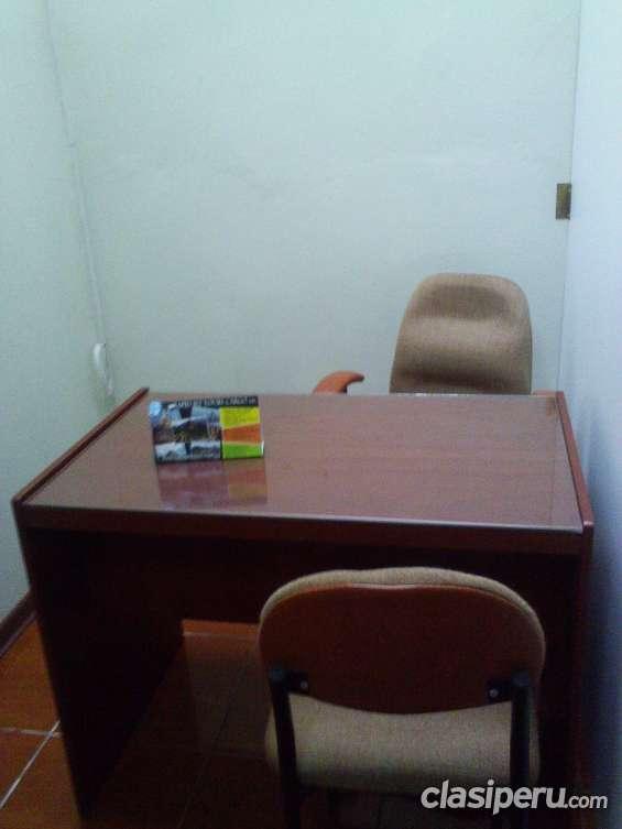 Alquilo oficina compartida para pymes en miraflores.