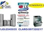 Soporte tecnico de ( lavadoras )  secadoras a domicilio tlf: 2545935