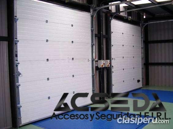 Puertas seccionales importadas