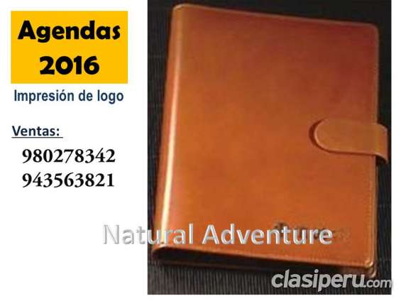 Agenda personalizada 2016
