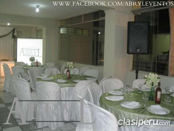 Alquiler de parlantes para fiestas y eventos