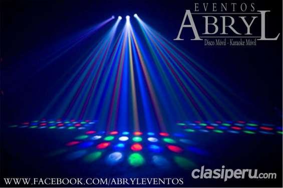 Servicio de alquiler de sonido, luces, hora loca y karaoke para matrimonios y quinceaños