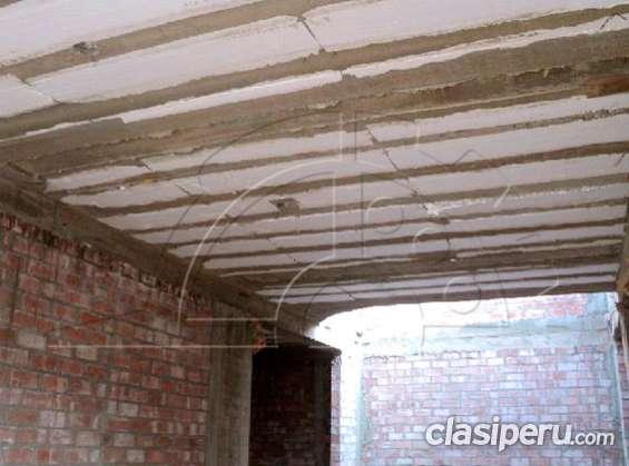Ladrillo de tecnopor para techo
