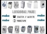 Servicio técnico - lavadora mabe /// 2565734 /// lima ?