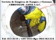 LIMPIEZA DE TANQUES Y CISTERNAS EN SAN BORJA, 792-4646