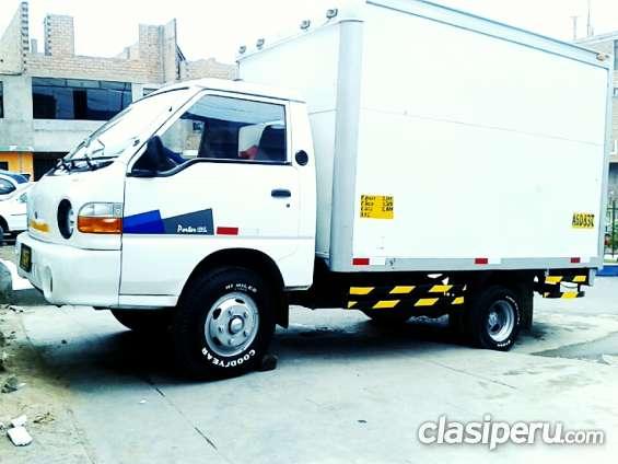 *alquilo camion hyundai porter furgón de 2 toneladas para empresa ó etc