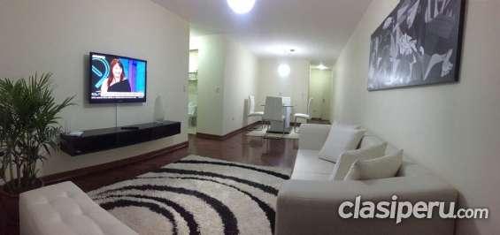 Alquiler departamento miraflores 4 habitaciones+cochera