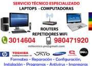 Servicio técnico laptops  computadoras - lima norte - a domicilio