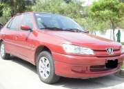 Vendo peugeot 306 sedan 1998 automatico y sunroof